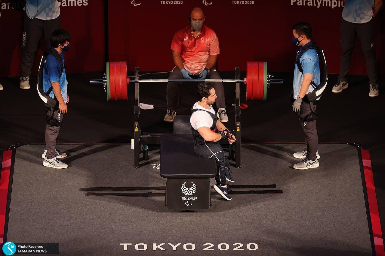 پارالمپیک 2020 وزنه برداری- امیر جعفری