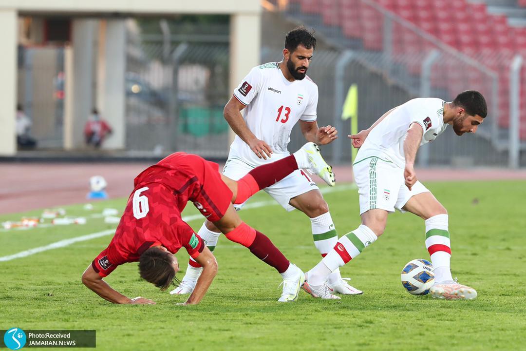 تیم ملی فوتبال ایران - ایران و هنگ کنگ علیرضا جهانبخش محمد حسین کنعانی زادگان