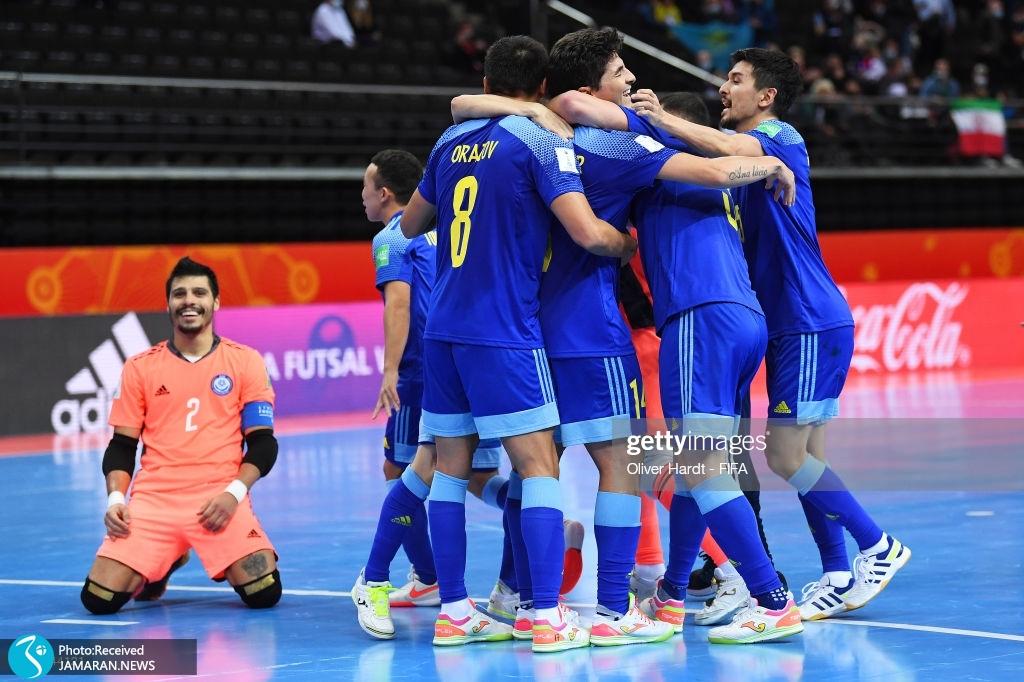 تیم ملی فوتسال ایران قزاقستان