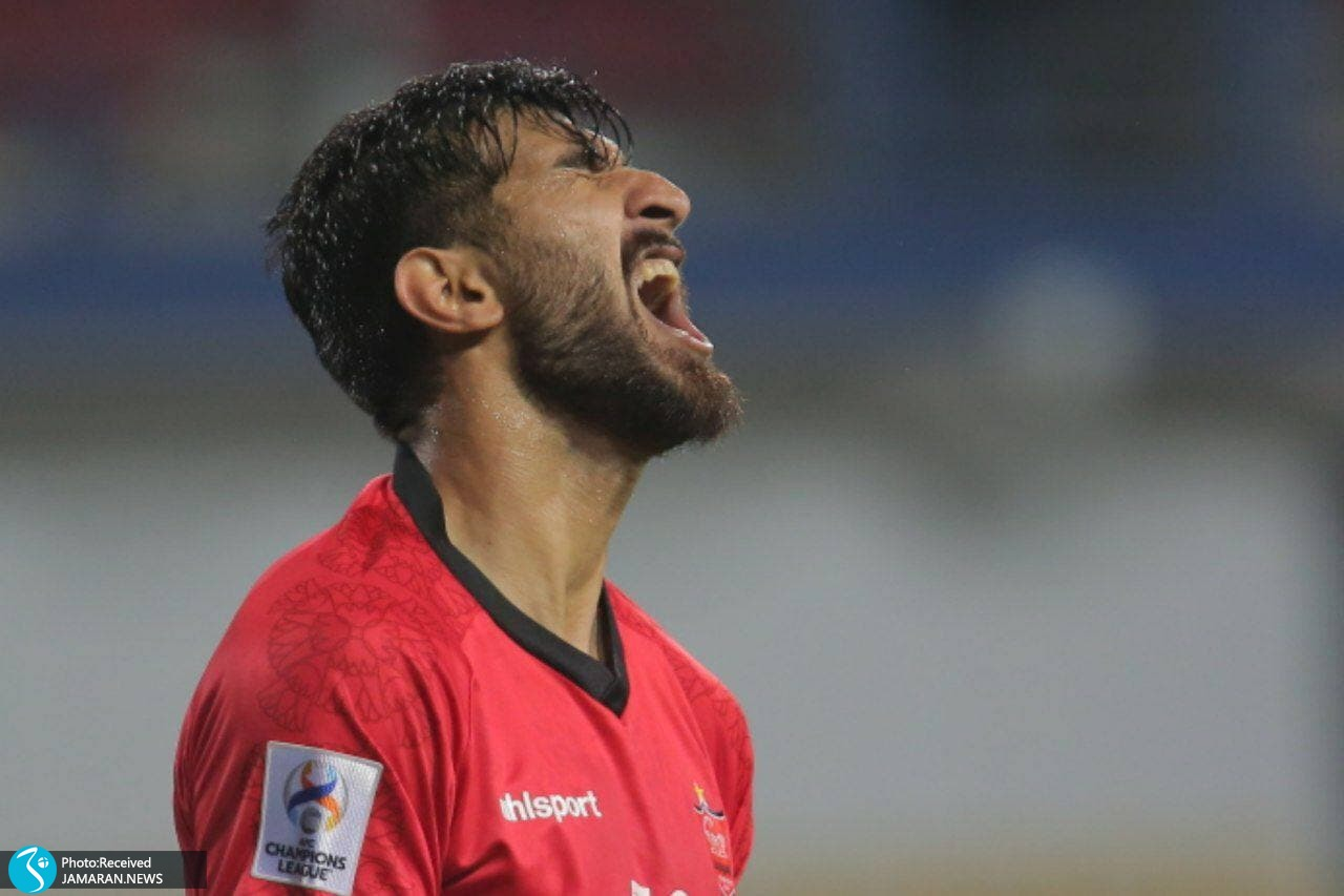 لیگ قهرمانان آسیا پرسپولیس الریان قطر شهریار مغانلو