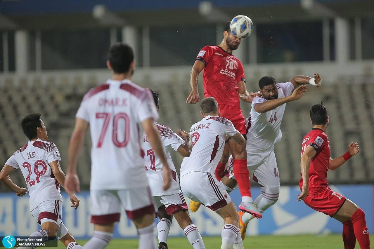 لیگ قهرمانان آسیا پرسپولیس الوحده امارات