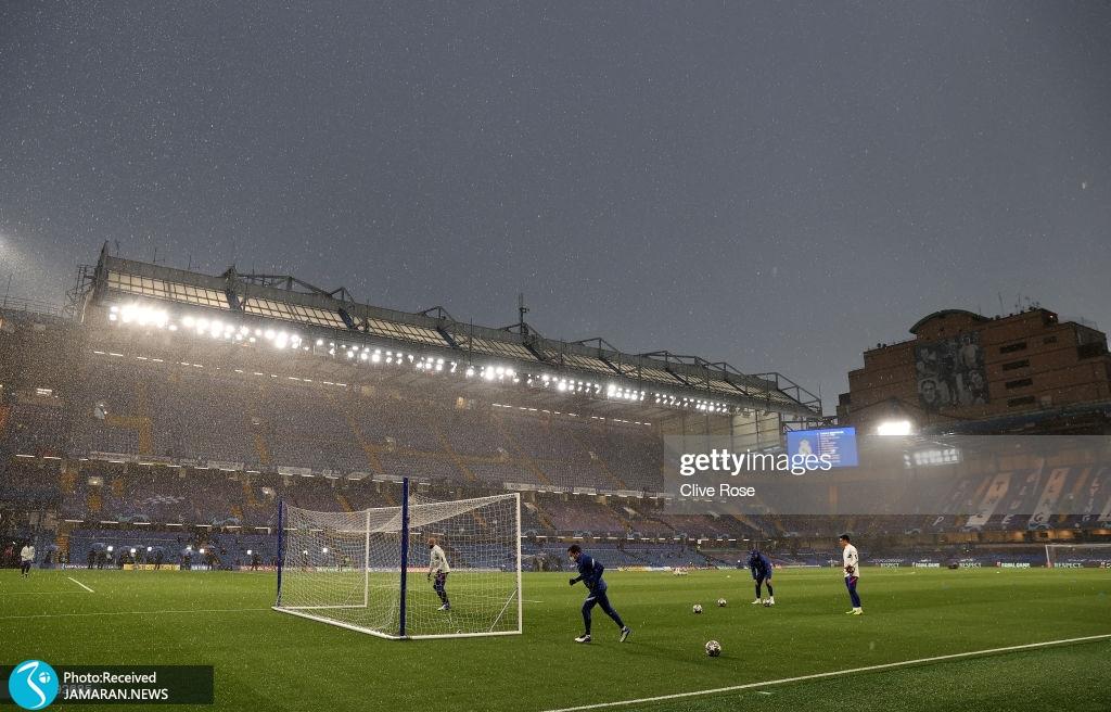نیمه نهایی لیگ قهرمانان اروپا چلسی رئال مادرید