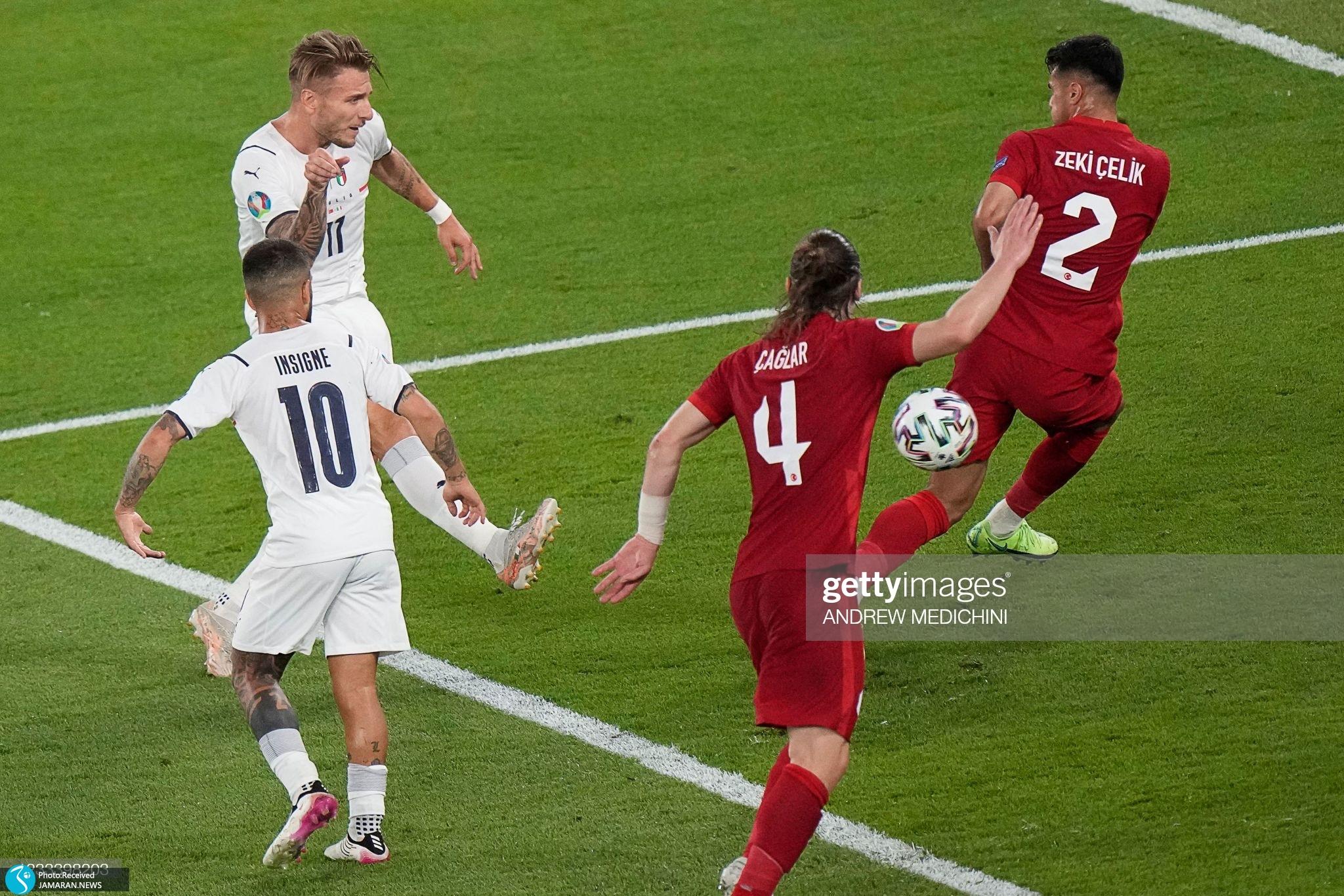 یورو ۲۰۲۰ بازی ایران و ایتالیا