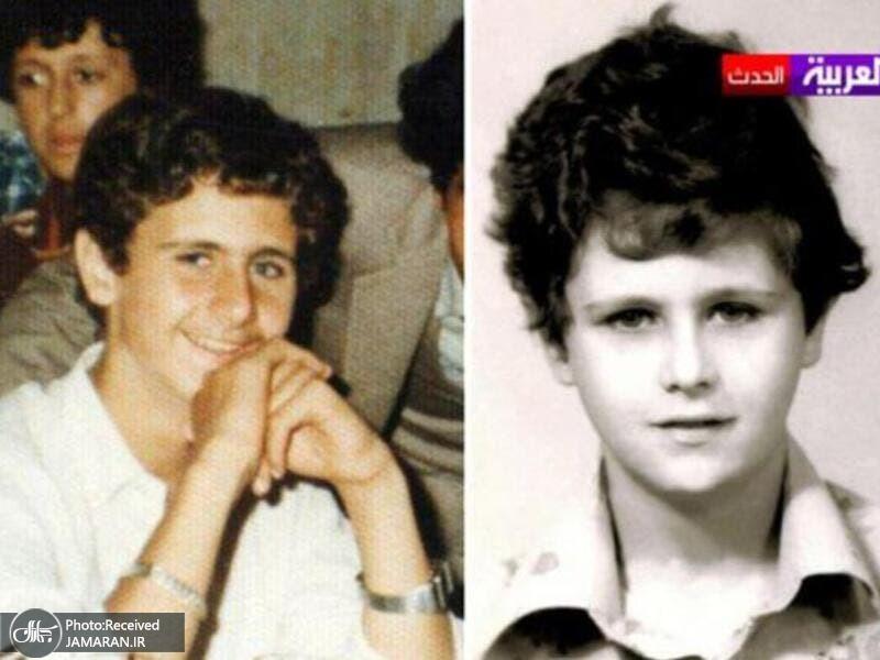 Bashar-Assad-Childhood