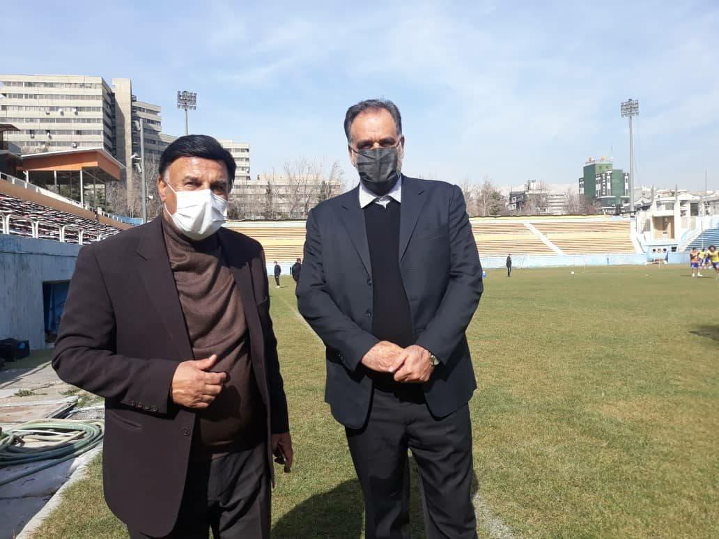 احمد مددی و پرویز مظلومی