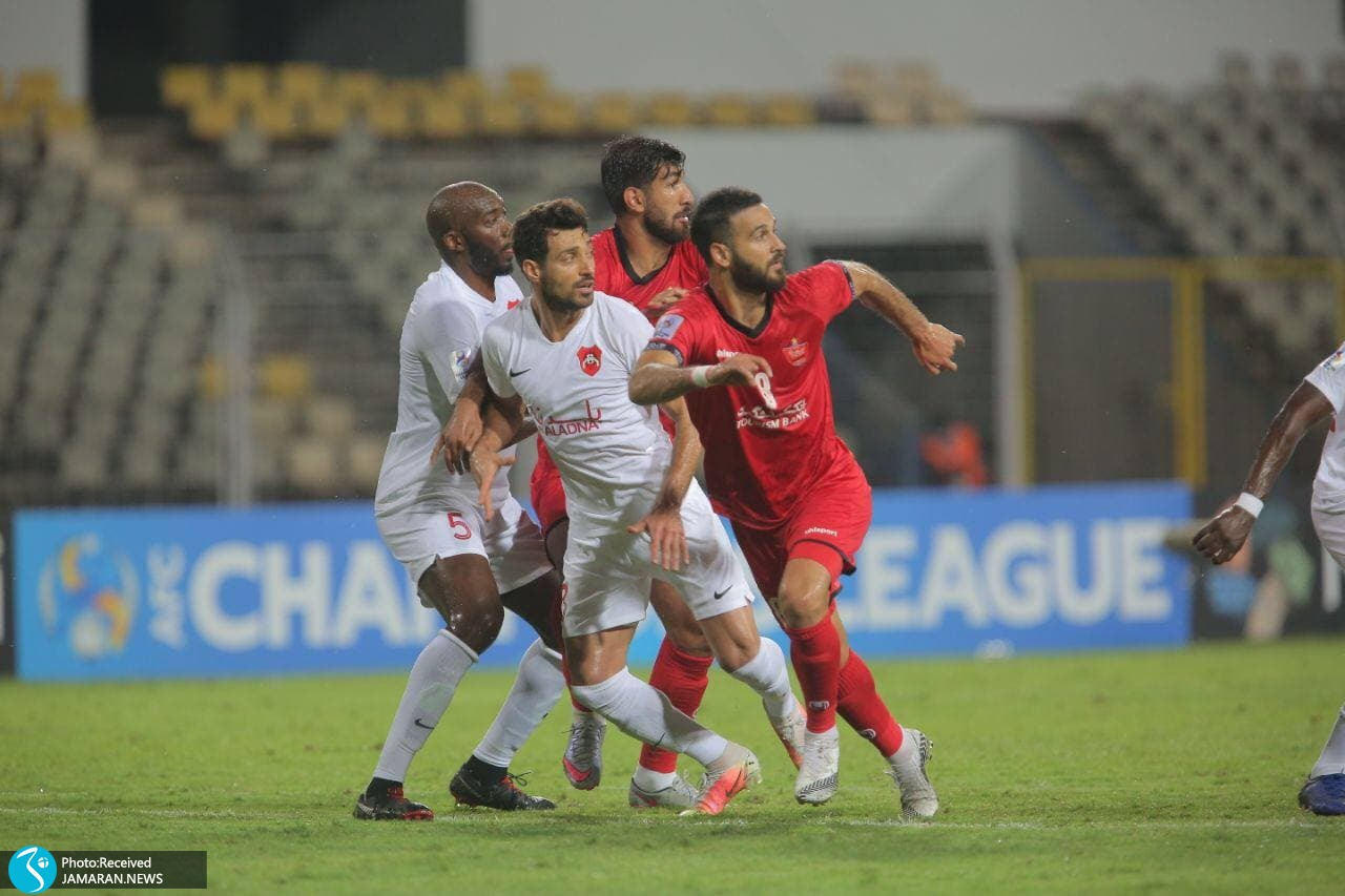 لیگ قهرمانان آسیا پرسپولیس الریان قطر