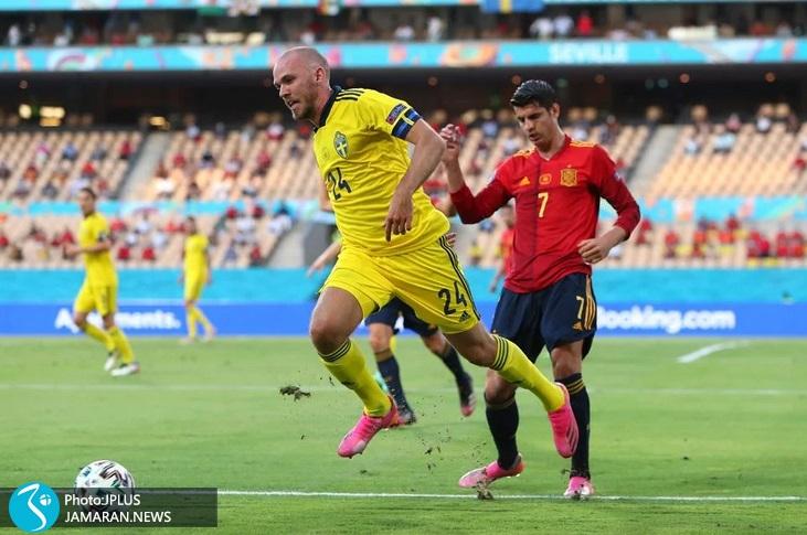 یورو 2020 - اسپانیا و سوئد - موراتا