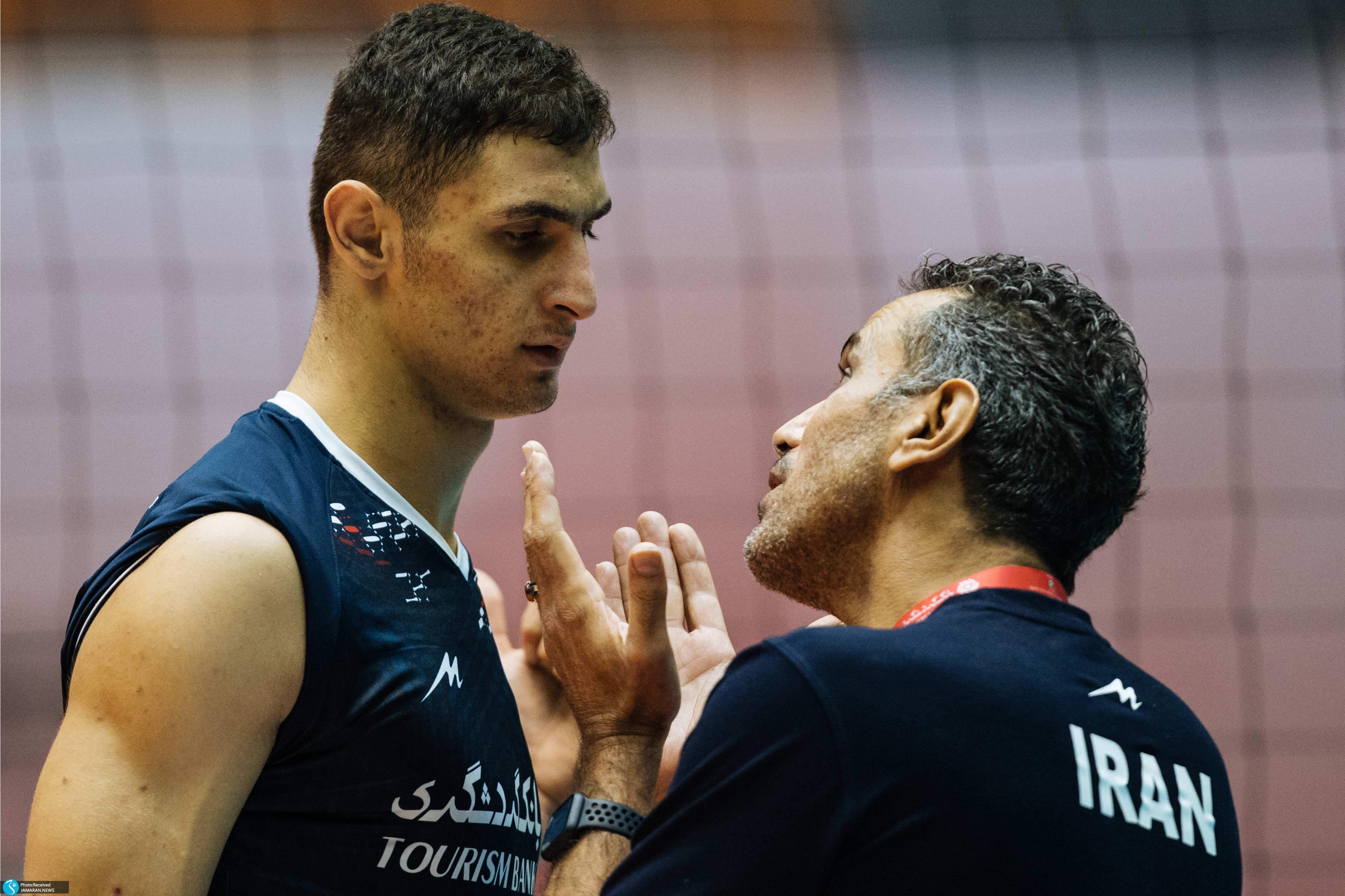 مسعود آرمات نیمه نهایی والیبال قهرمانی نوجوانان جهان ایران لهستان