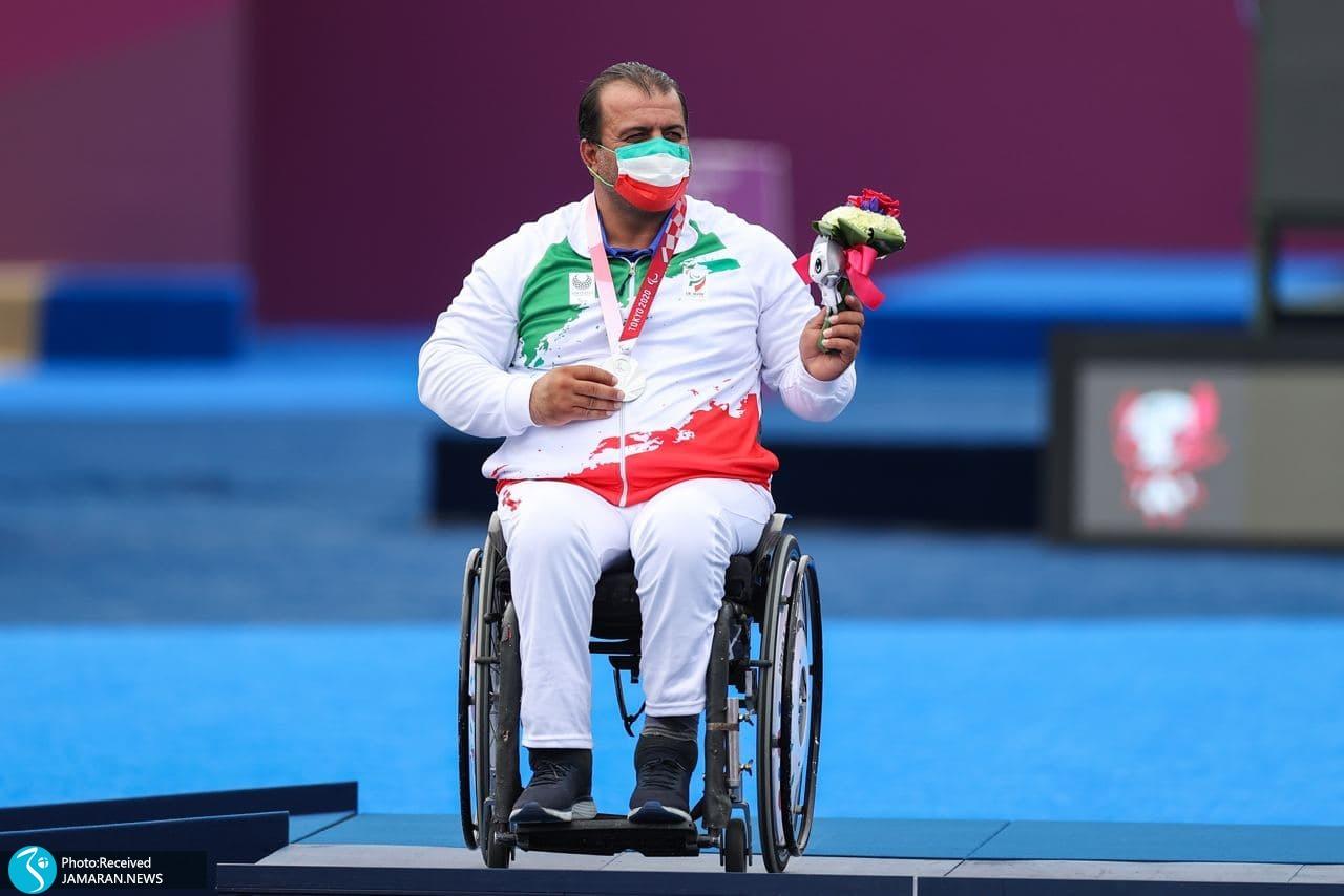 پارالمپیک 2020 - اهدای مدال نقره رمضانی