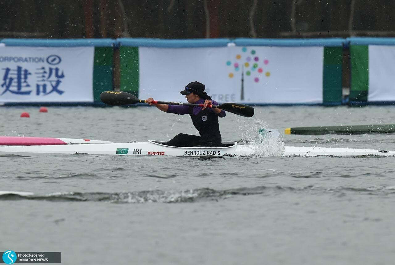 شهلا بهروزی راد پاراقایقران ایران در پارالمپیک توکیو