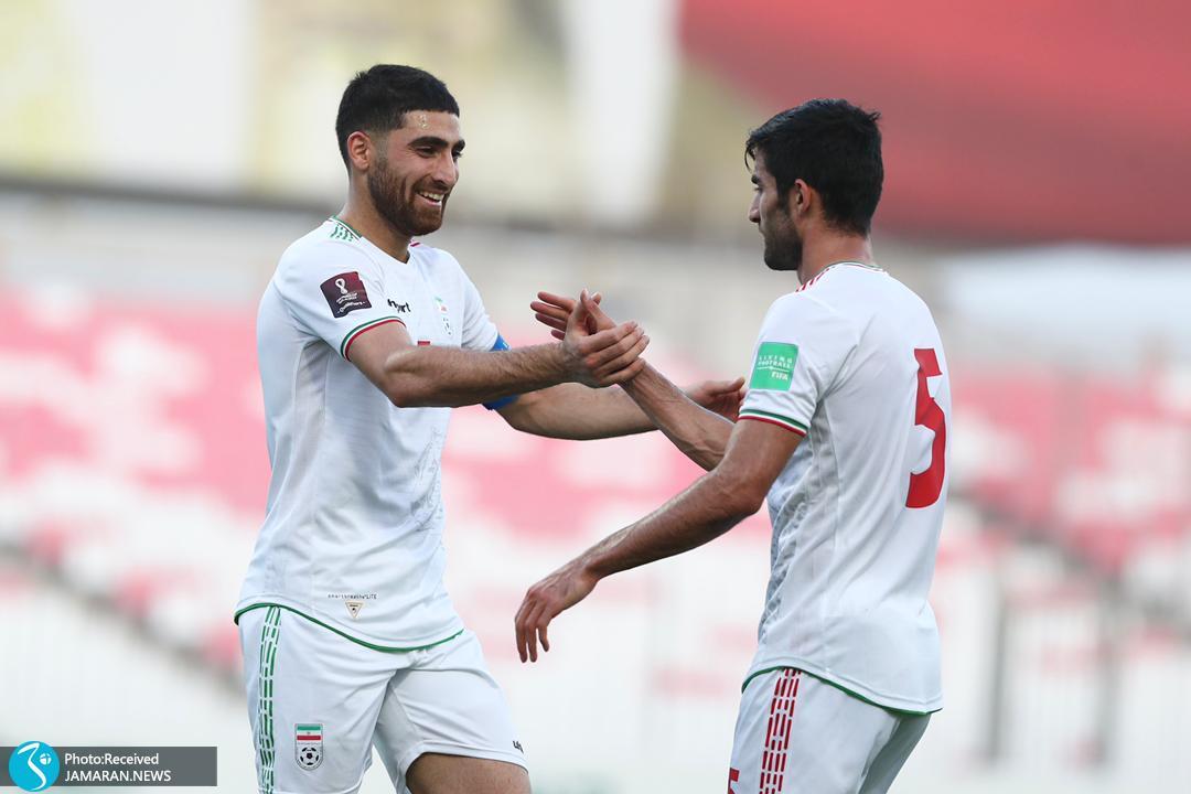 تیم ملی فوتبال ایران - ایران و کامبوج علیرضا جهانبخش
