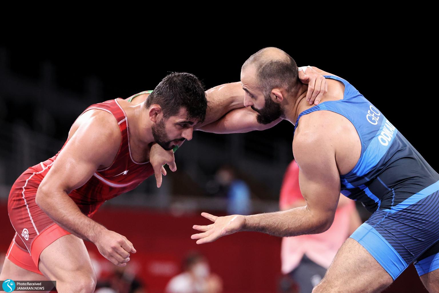 محمدحسین عسگری محمدیان در کشتی آزاد المپیک