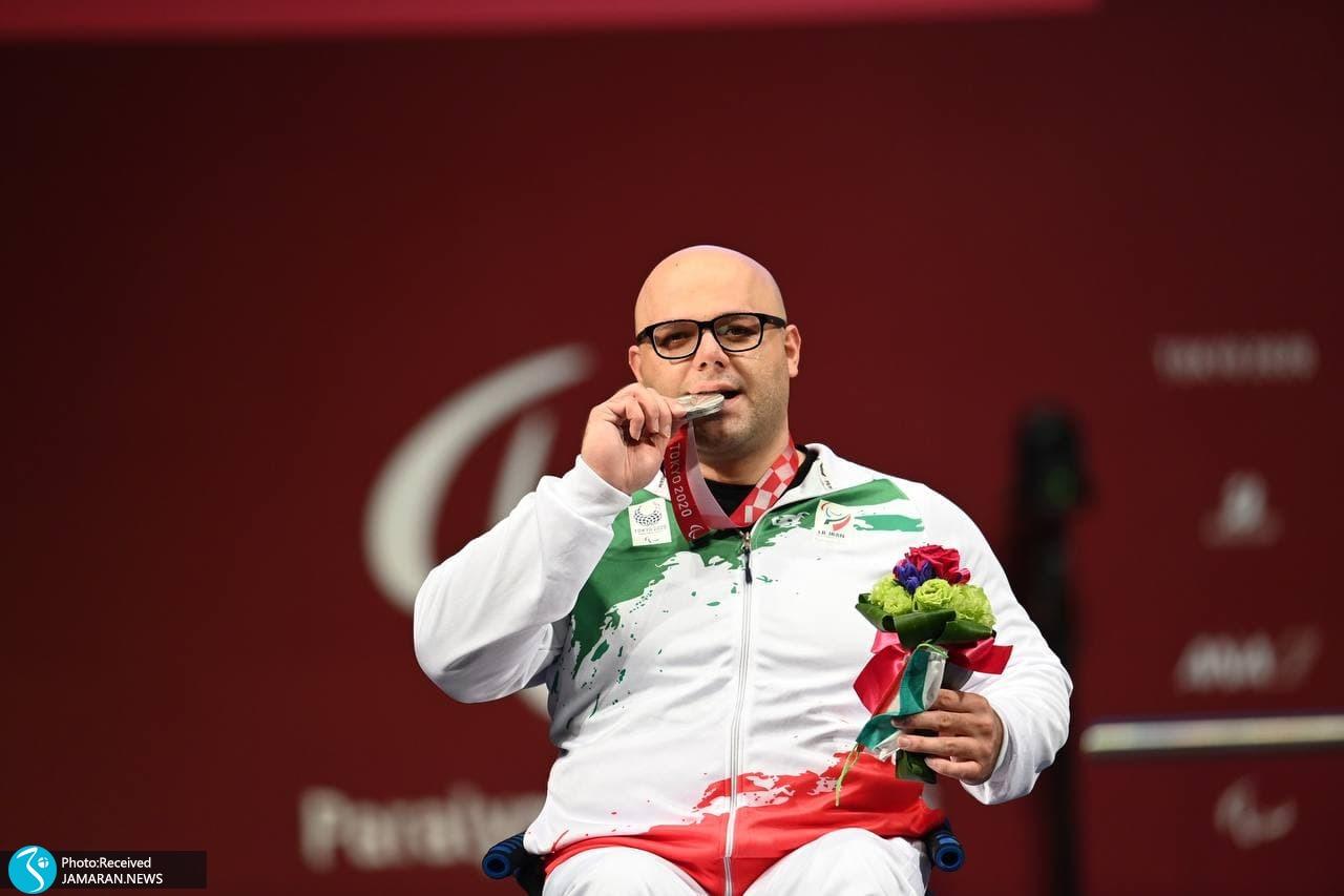 پارالمپیک 2020 - اهدای مدال نقره حامد صلحی پور