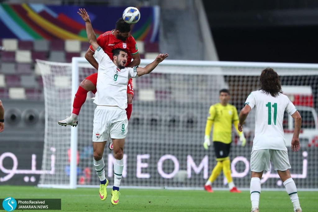 تیم ملی فوتبال ایران عراق مقدماتی جام جهانی محمدحسین کنعانی زادگان