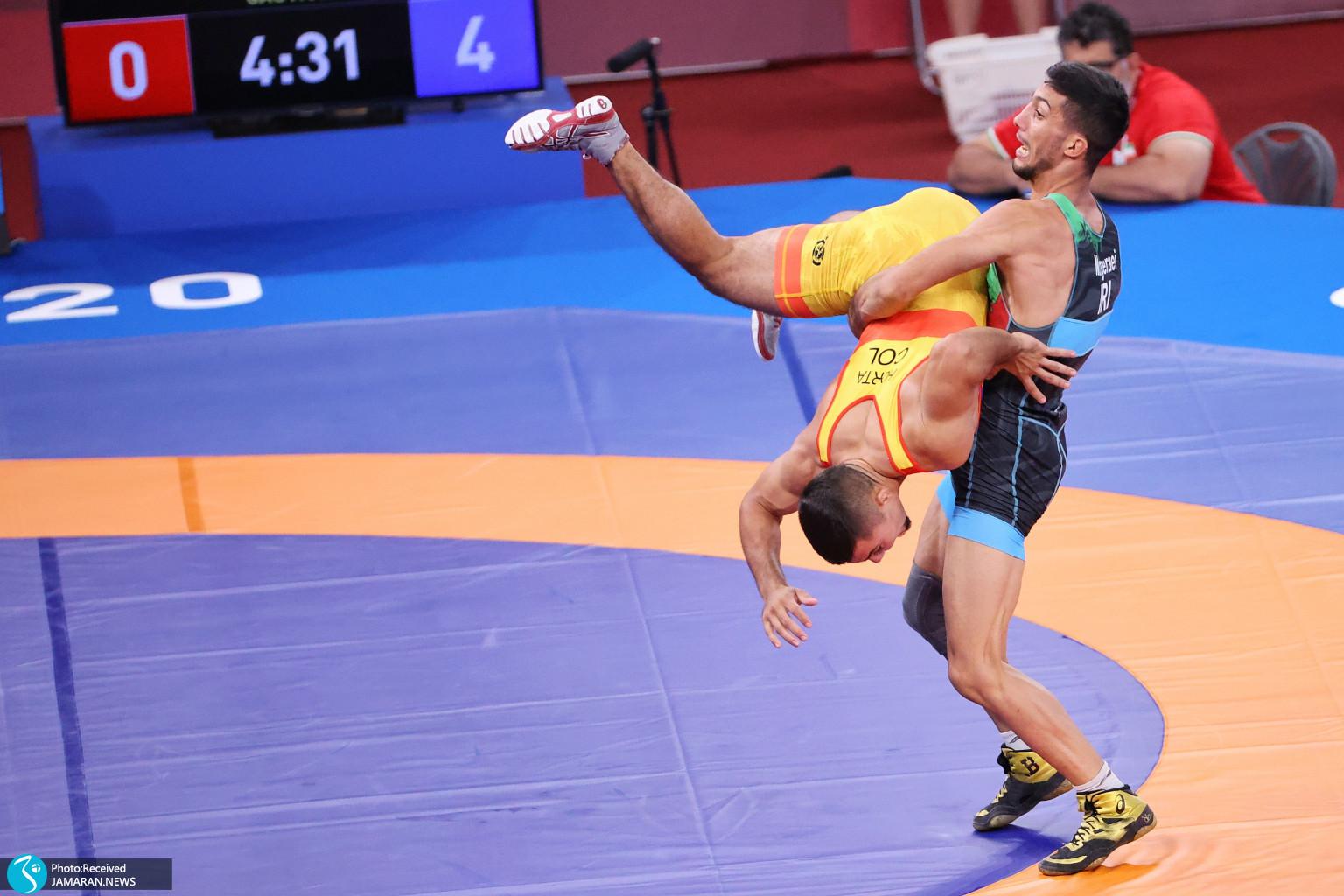 محمدرضا گرایی کشتی فرنگی المپیک