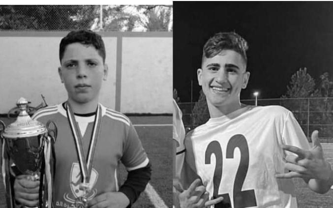 شهادت ۲ بازیکن نوجوان فلسطینی