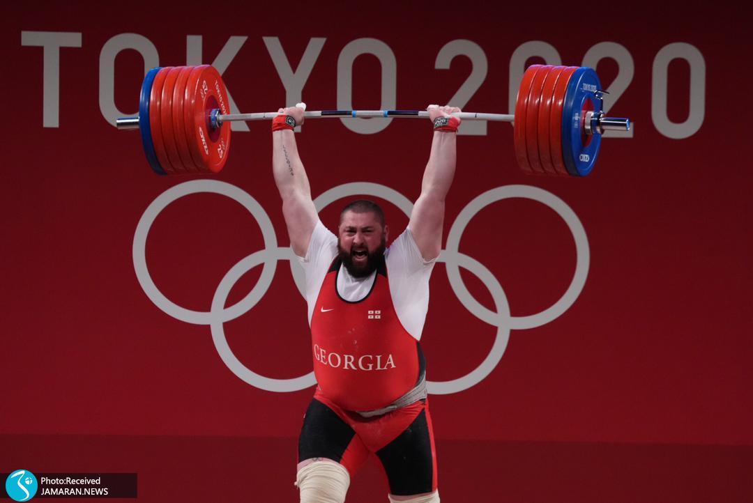 تالاخادزه وزنه برداری المپیک 2020