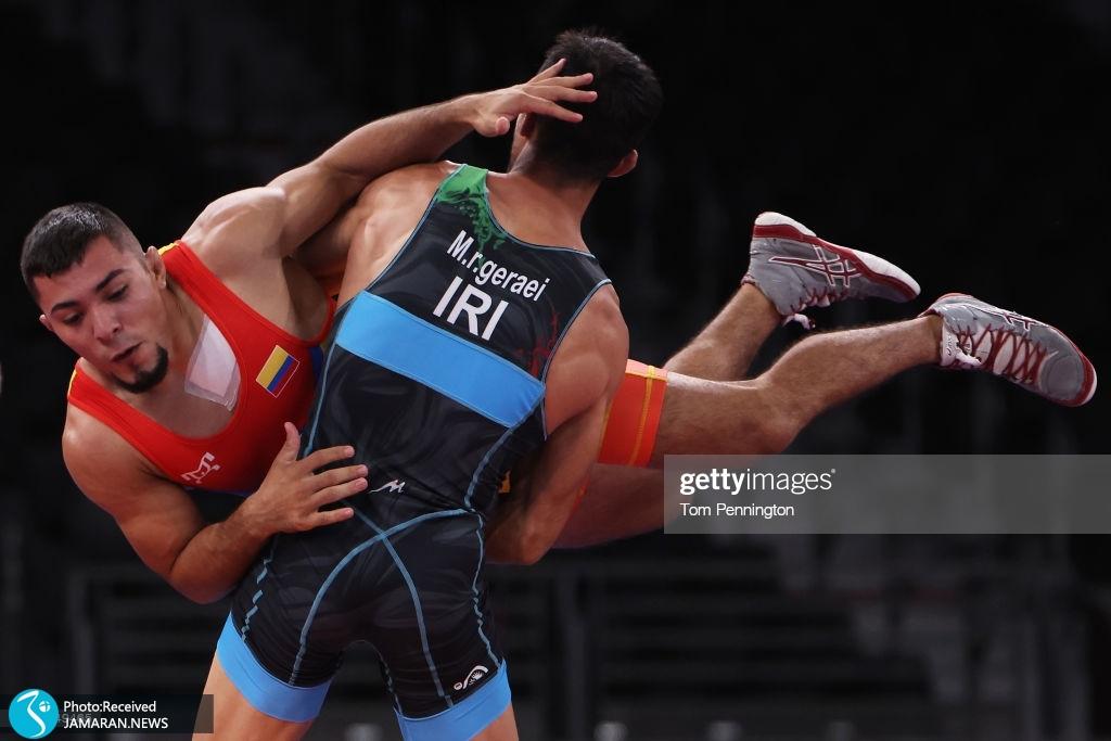 محمدرضا گرایی در کشتی فرنگی المپیک