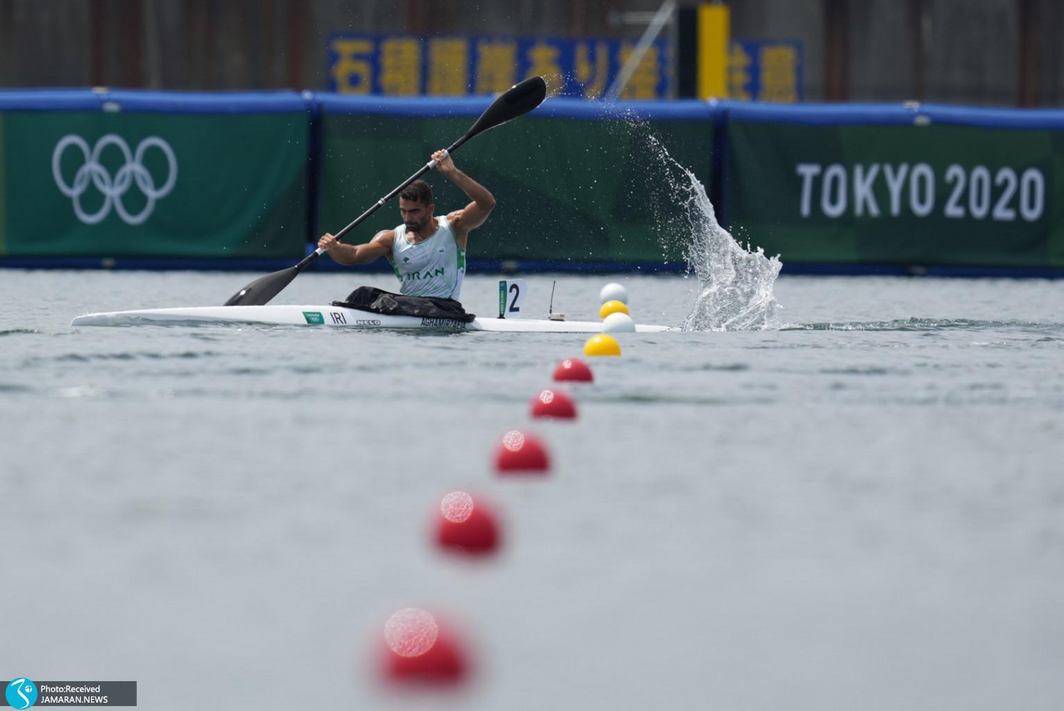 علی آقامیرزایی قایقرانی المپیک