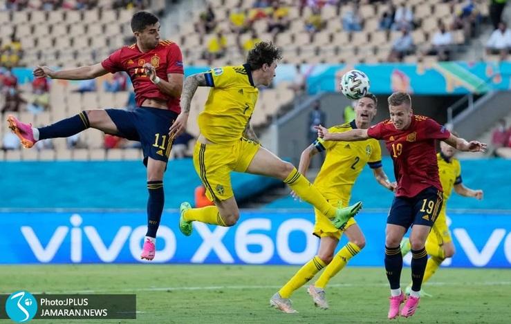 یورو 2020 - اسپانیا و سوئد - فران تورس و دنی المو