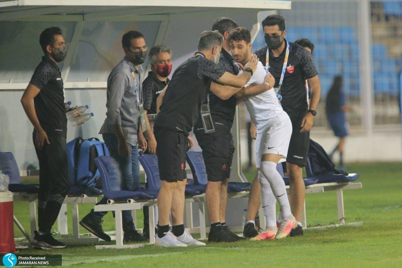 لیگ قهرمانان آسیا پرسپولیس الریان قطر شجاع خلیل زاده