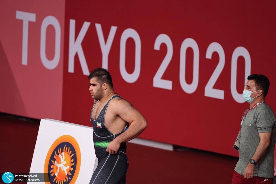 امین میرزازاده در کشتی فرنگی المپیک
