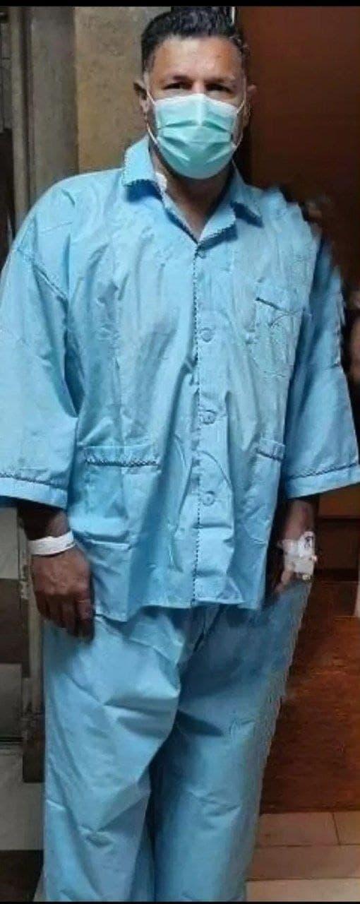 علی دایی در بیمارستان بستری شد+ عکس