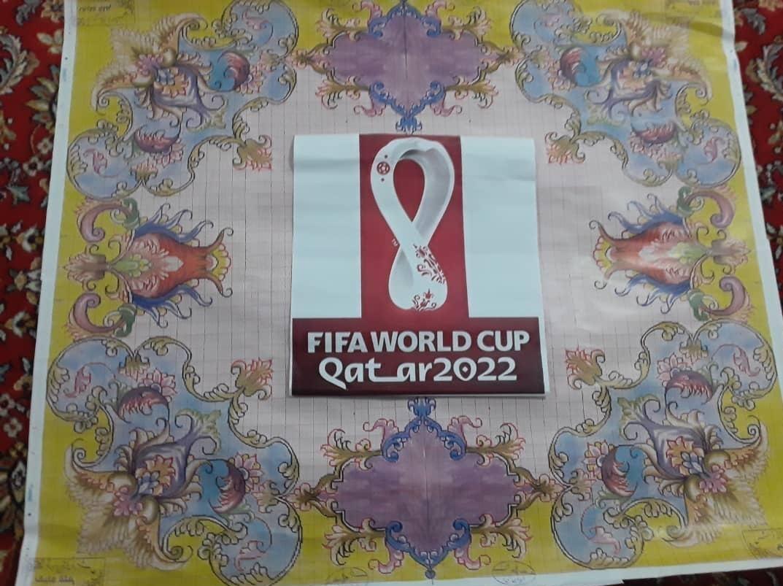 رونمایی از طرح تابلو فرشهای جام جهانی قطر در ایران