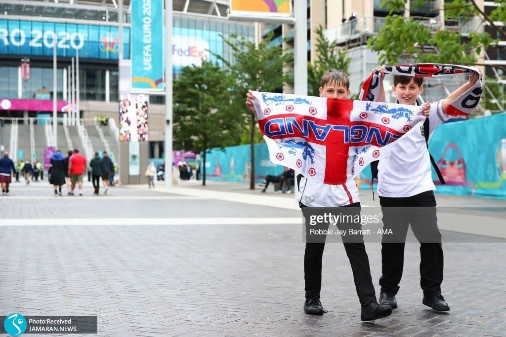 یورو 2020-  تیم فوتبال انگلیس و اسکاتلند