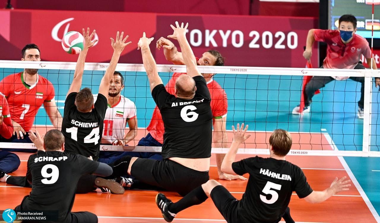 والیبال نشسته پارالمپیک 2020 - ایران - آلمان