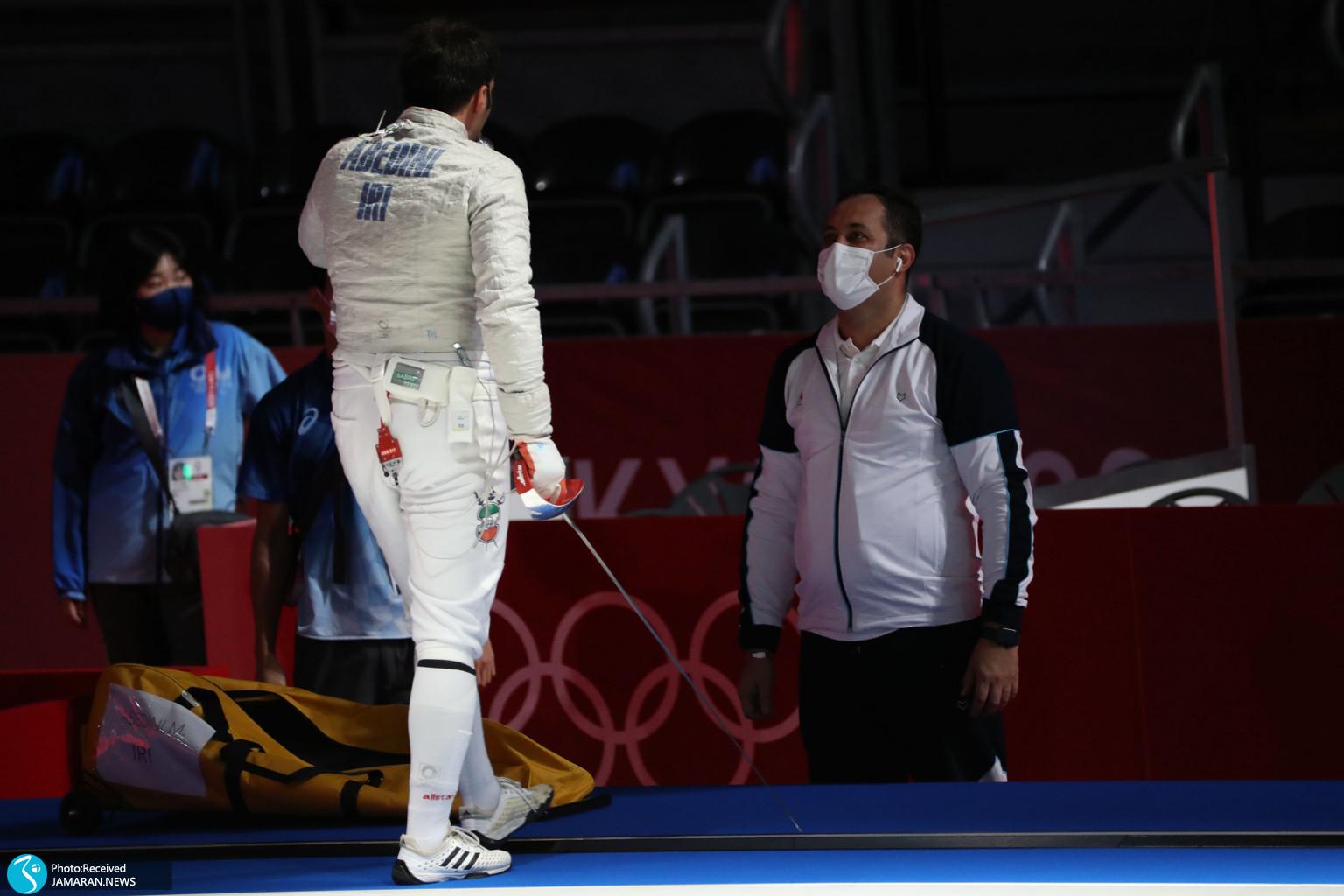 مجتبی عابدینی شمشیربازی المپیک پیمان فخری