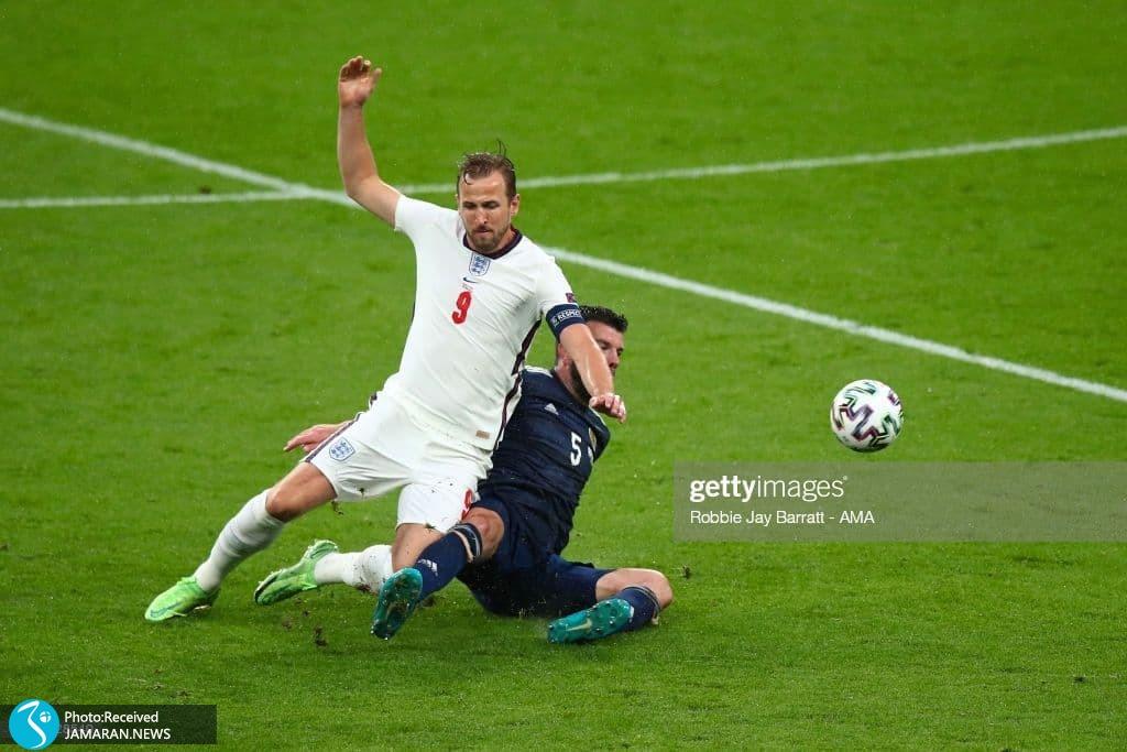 هری کین - یورو 2020 - تیم فوتبال انگلیس و اسکاتلند