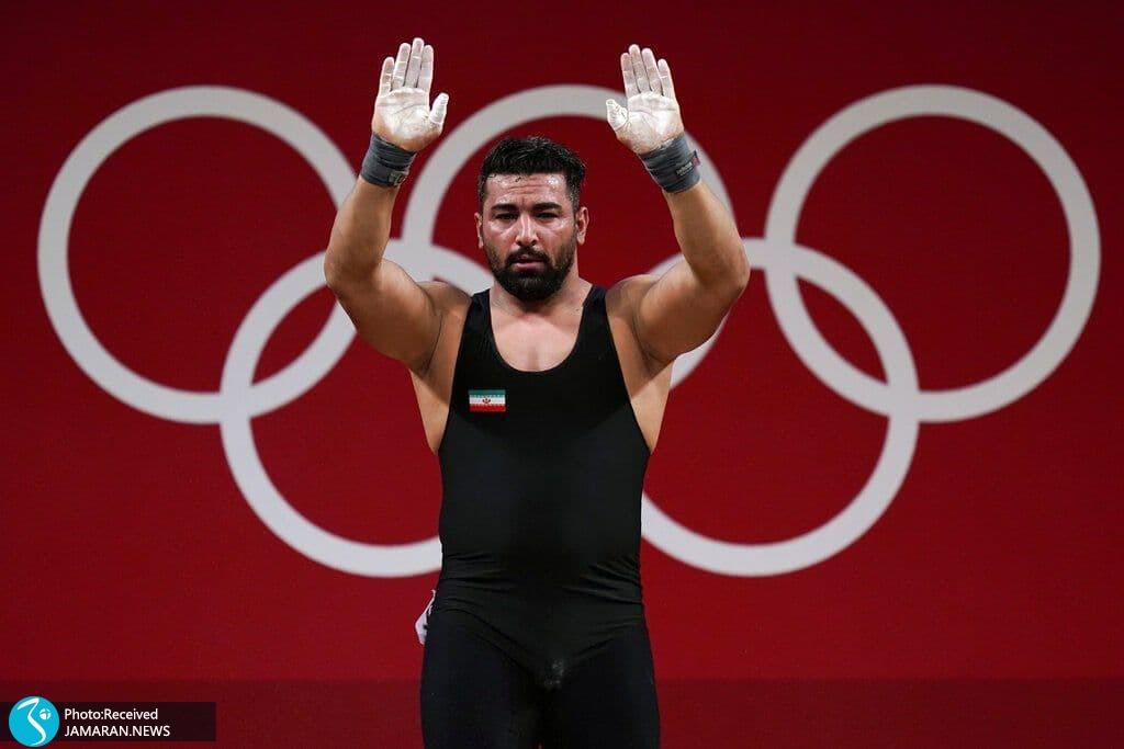 علی هاشمی وزنه برداری المپیک