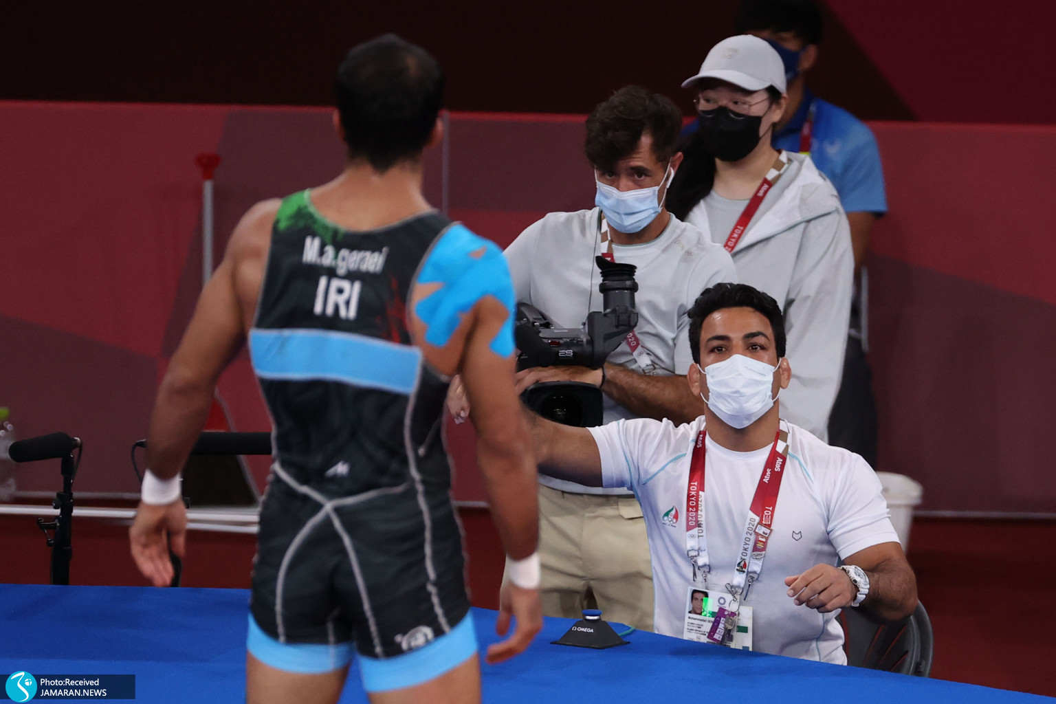 حبیب الله اخلاقی محمدعلی گرایی کشتی فرنگی المپیک