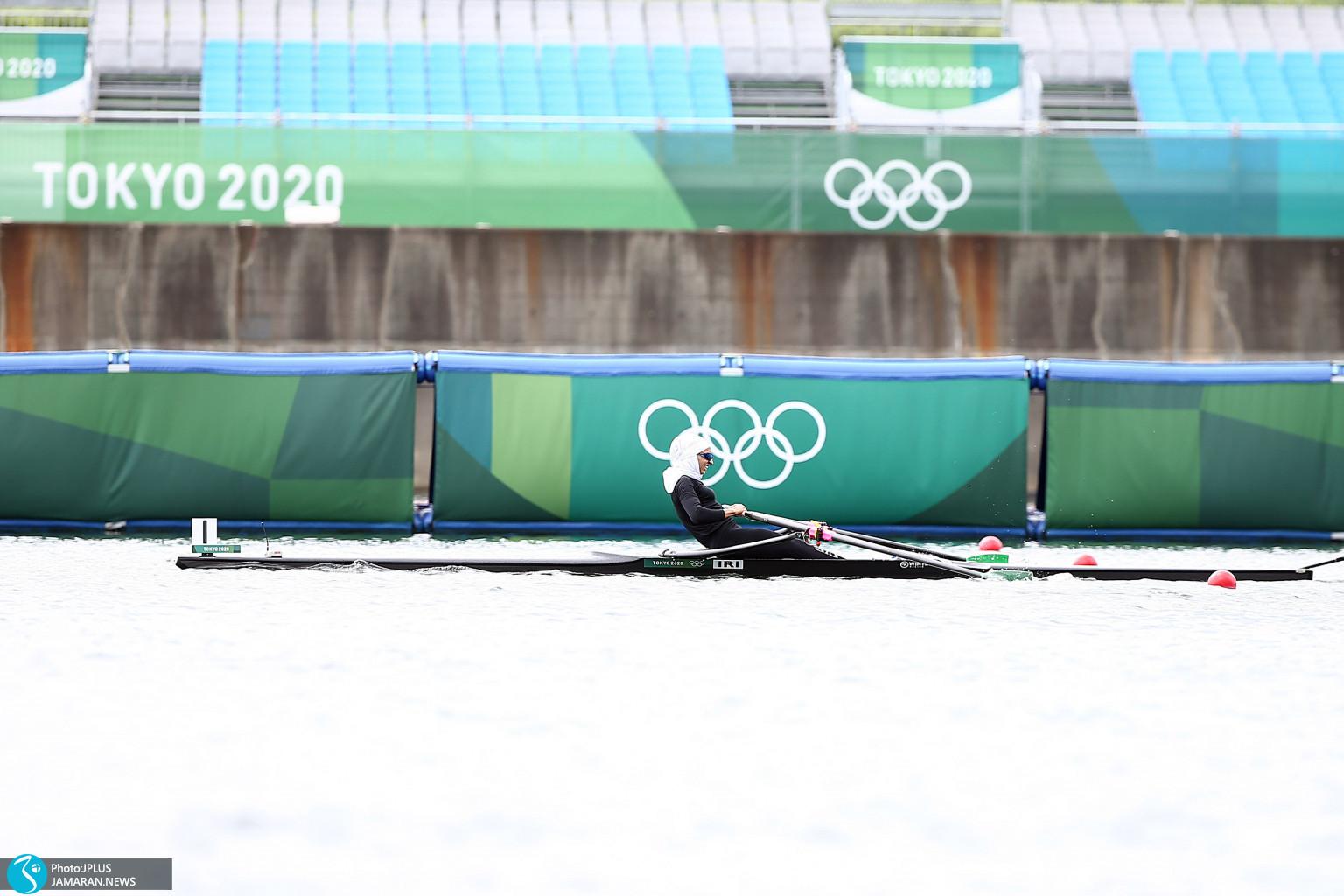 نازنین ملایی قایقرانی المپیک