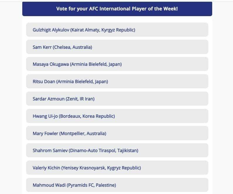 آزمون نامزد بهترین لژیونر هفته آسیا شد