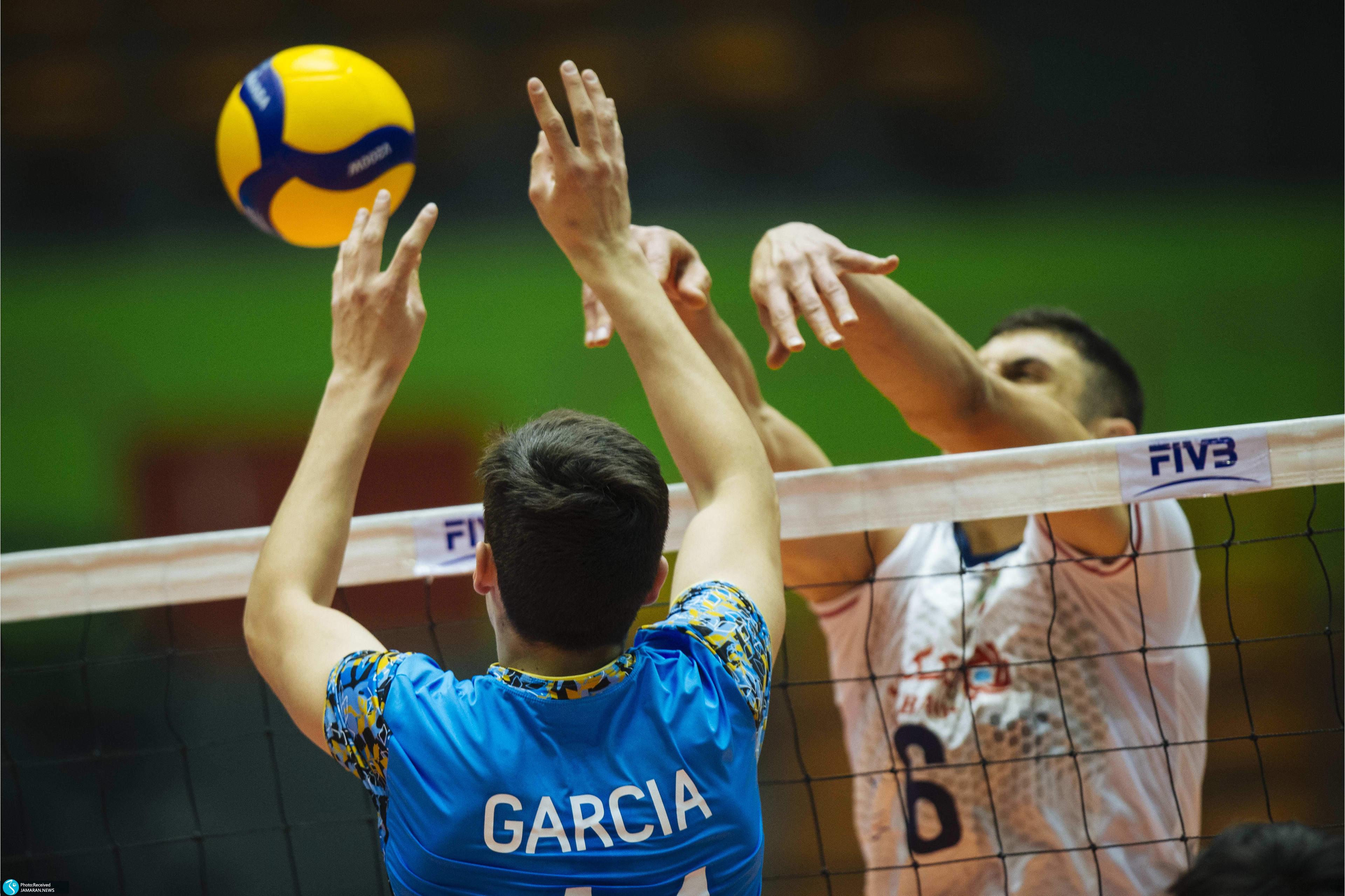 والیبال قهرمانی نوجوانان جهان- ایران - آرژانتین