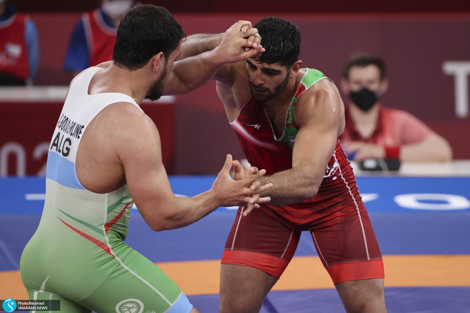 محمدهادی ساروی در کشتی فرنگی المپیک