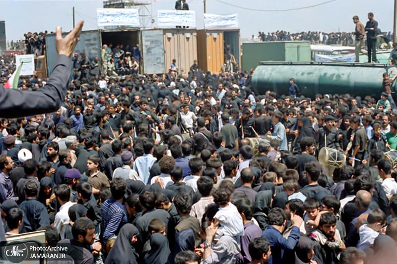 تشییع پیکر امام خمینی