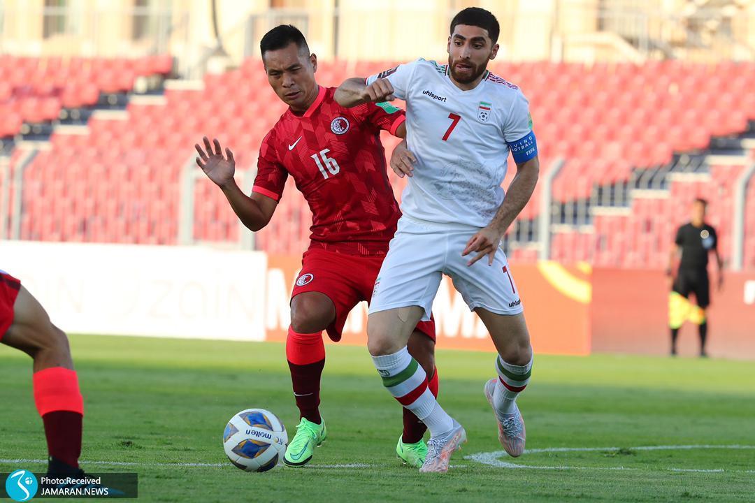 تیم ملی فوتبال ایران - ایران و هنگ کنگ علیرضا جهانبخش