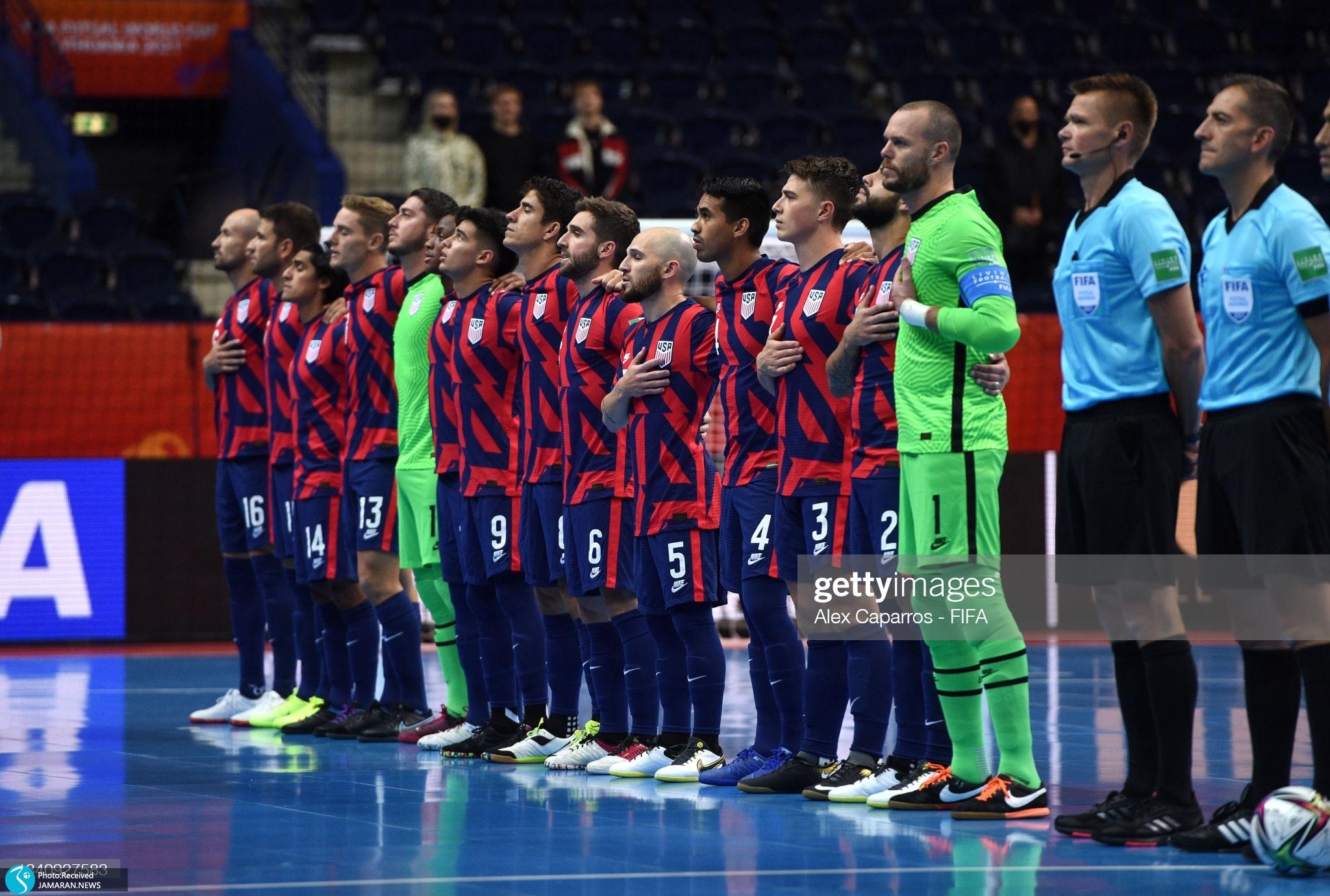 جام جهانی فوتسال 2021- ایران - آمریکا