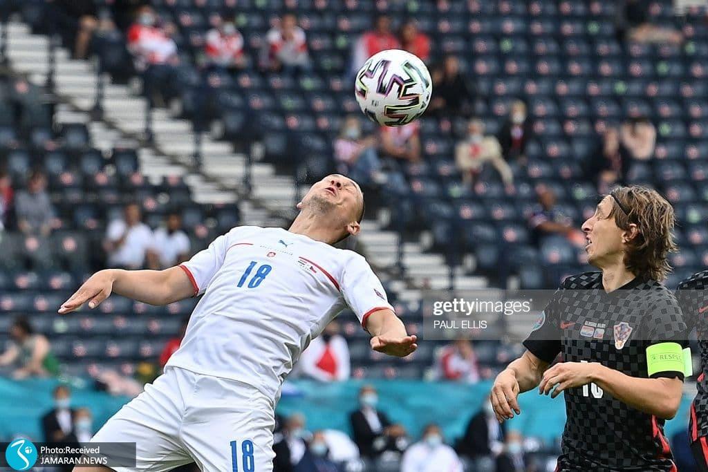یورو 2020- تیم فوتبال کرواسی و جمهوری چک