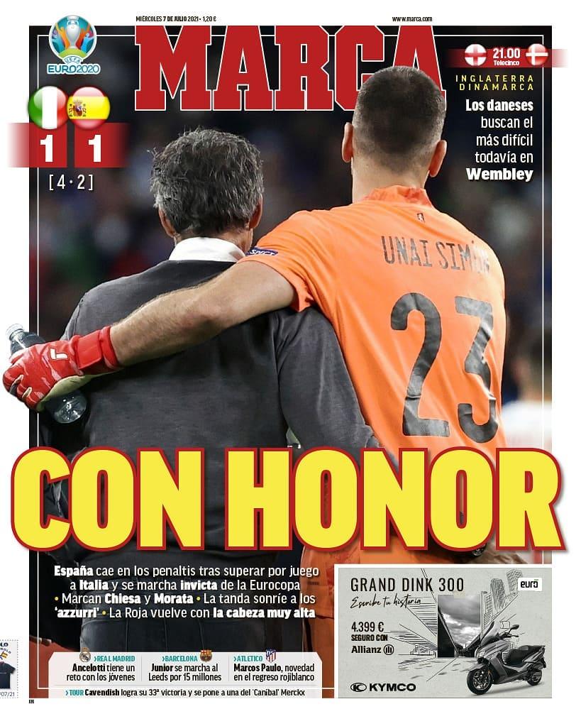 روزنامه های اسپانیا