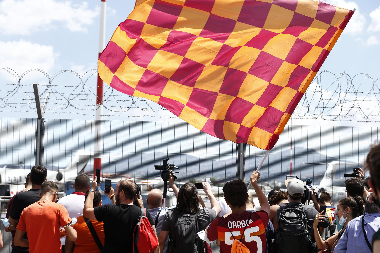 استقبال استقبال فوق العاده از آقای خاص در رم/ ژوزه مورینیو