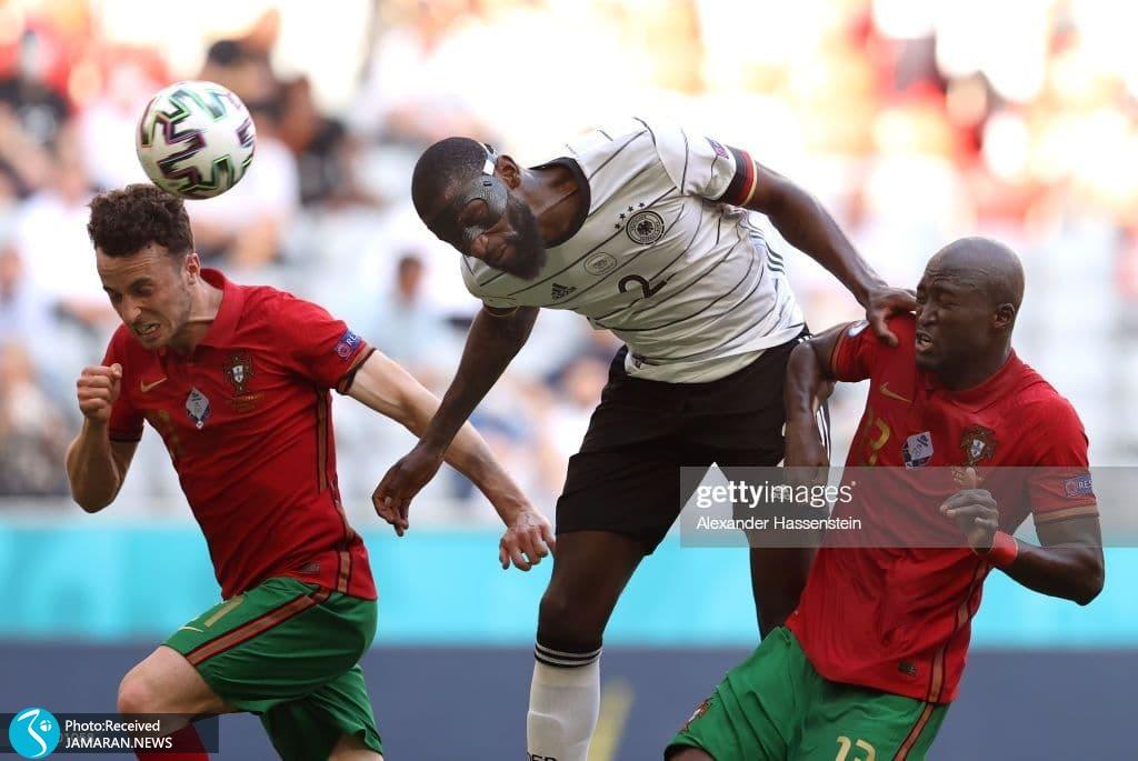 یورو 2020- تیم فوتبال پرتغال و آلمان