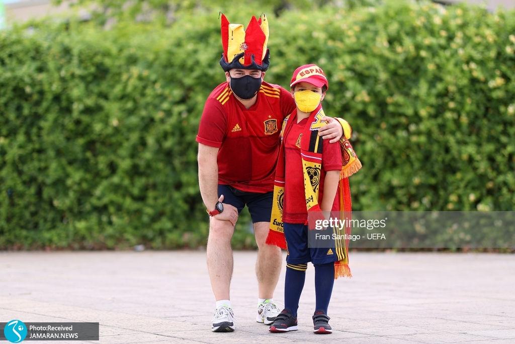 یورو ۲۰۲۰ - تیم فوتبال اسپانیا و لهستان