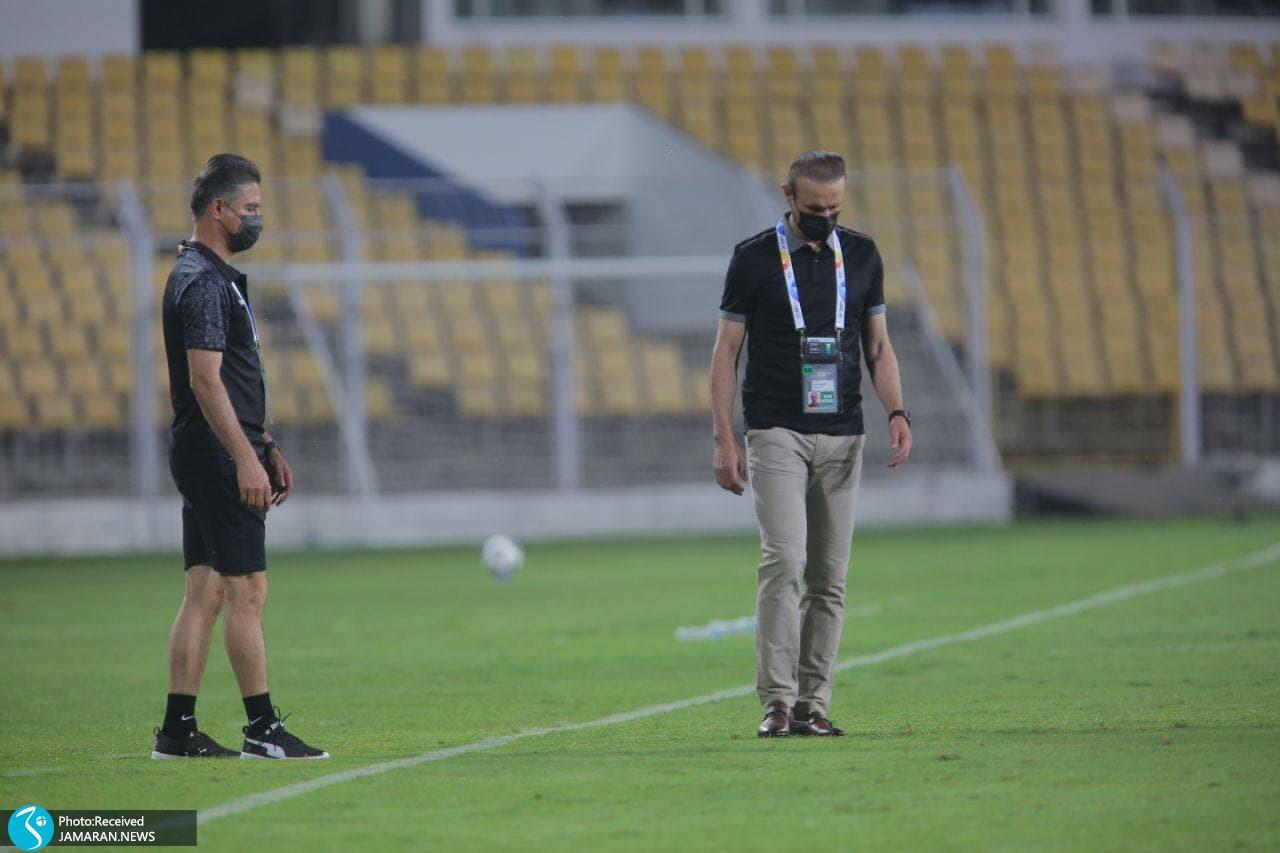 لیگ قهرمانان آسیا پرسپولیس الریان قطر یحیی گل محمدی حمید مطهری