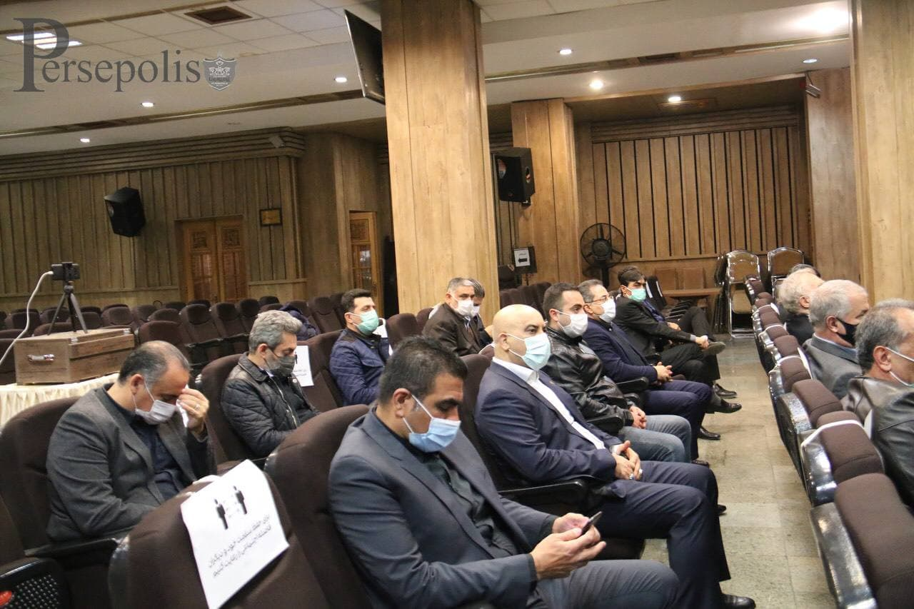 مراسم ختم باشگاه پرسپولیس برای علی انصاریان