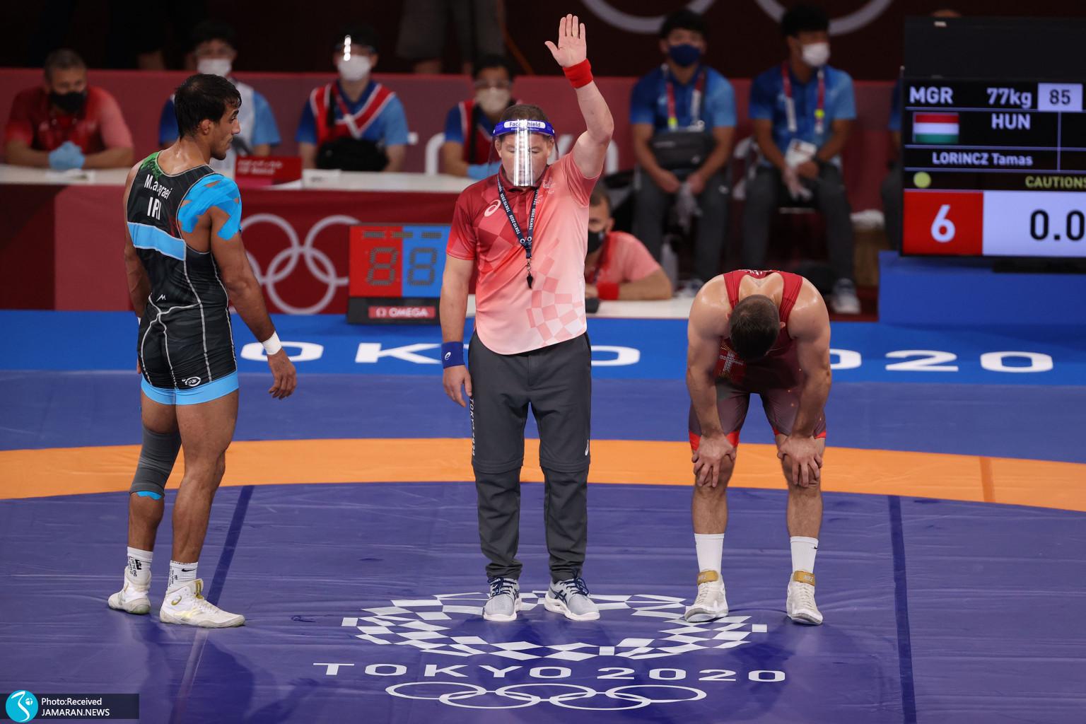 محمدعلی گرایی کشتی فرنگی المپیک