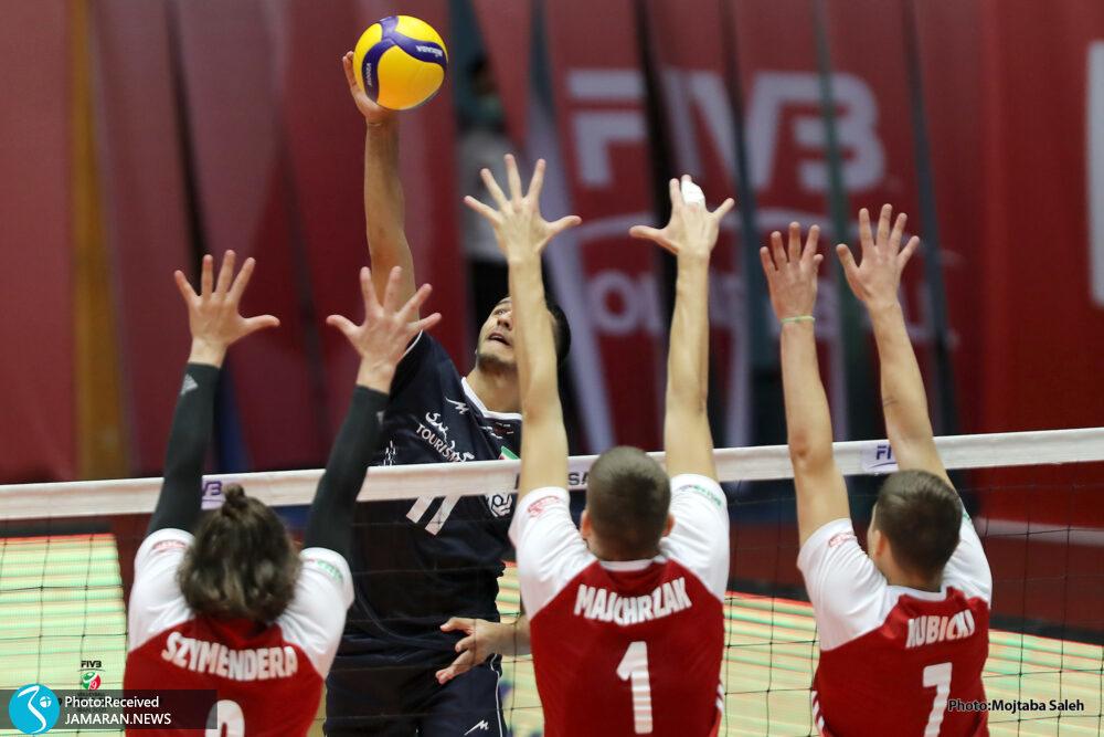 والیبال قهرمانی نوجوانان جهان ایران لهستان